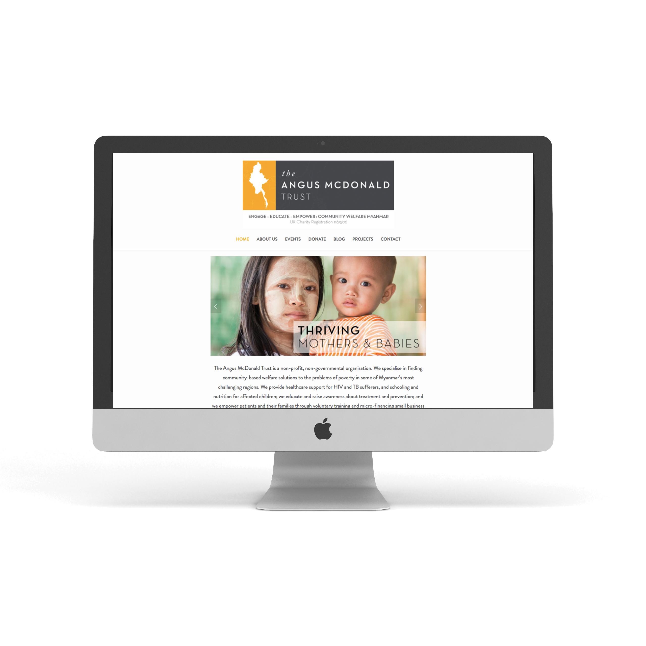 Angus McDonald Website