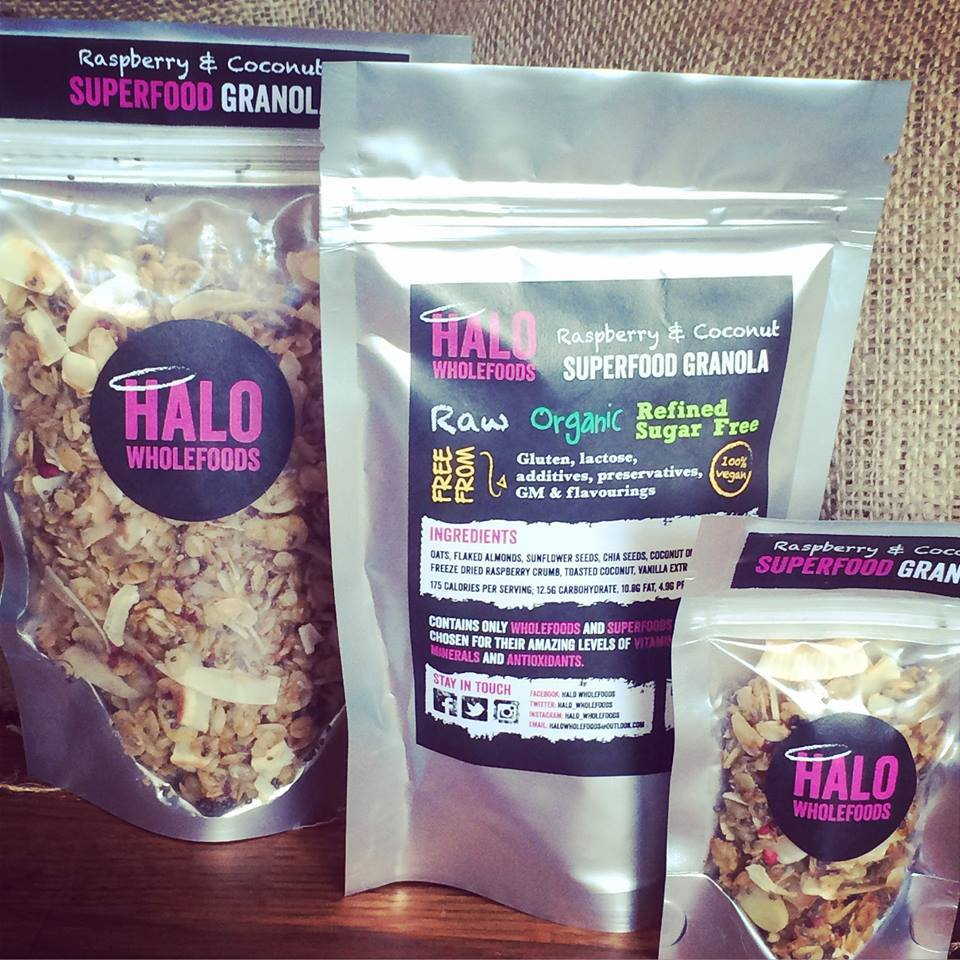 Halo Wholefood Packaging