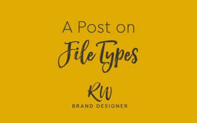 So What is a Jpeg? A Post on File Types