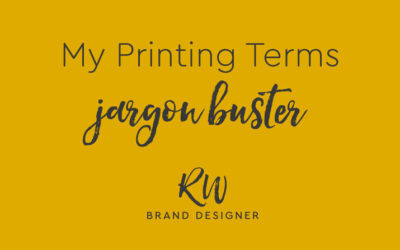 My Printing Terms Jargon Buster
